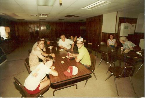 Taken at OIME Break room during Field Day in 84 or 85