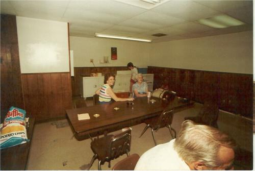 Taken at OIME Break room during Field Day in 84 or 85 2