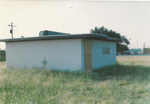 The old clubhouse